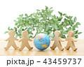 地球と環境のミニチュア 43459737