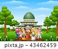 子供 こども達 児童のイラスト 43462459