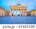 ベルリン ブランデンブルク ゲートの写真 43463280