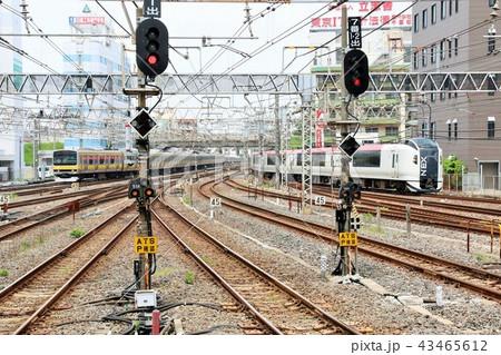千葉駅 成田エクスプレスと総武線各駅停車 43465612