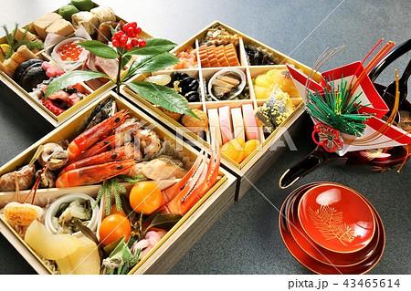 新年のおせち料理 43465614