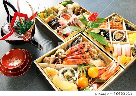 新年のおせち料理 43465615