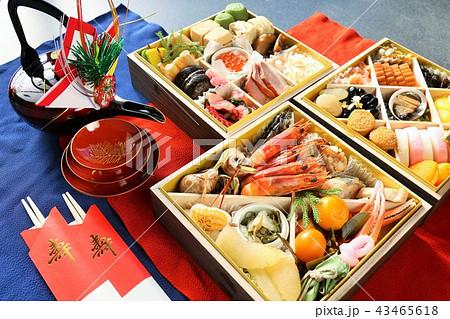 新年のおせち料理 43465618