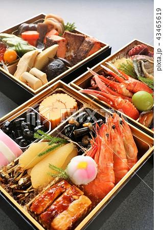 新年のおせち料理 43465619