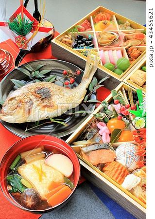 新年のおせち料理 43465621