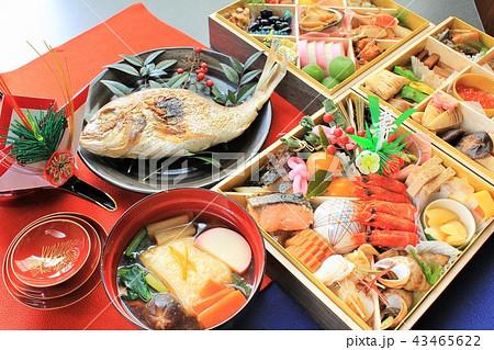 新年のおせち料理 43465622
