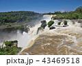 イグアスの滝 滝 世界遺産の写真 43469518