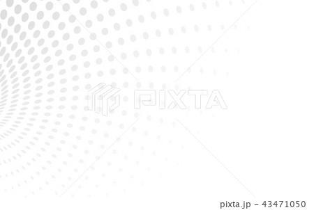 Halftone Light white vector illustration 43471050