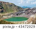 蔵王 蔵王連峰 火口湖の写真 43472029