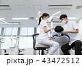 歯医者 患者 歯科医の写真 43472512