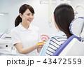 歯医者 歯科 デンタル 患者 女性 病院 医療 歯科医 虫歯 治療 43472559