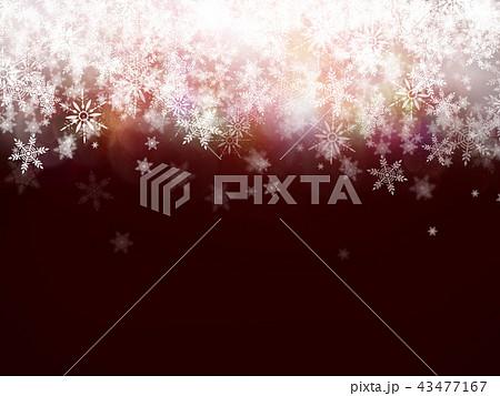 背景-雪-クリスマス 43477167