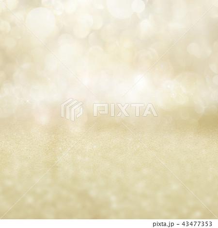 背景-クリスマス-ゴールド-キラキラ 43477353