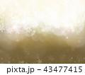 背景-雪-クリスマス-ゴールド-キラキラ 43477415