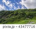 北アルプスの山々 43477716
