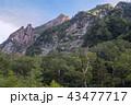 北アルプスの山々 43477717