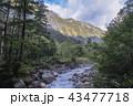 北アルプスの山々 43477718