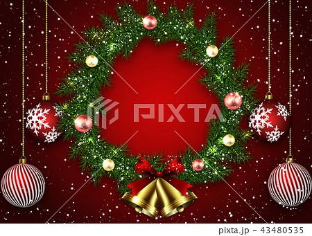 クリスマスリース 43480535