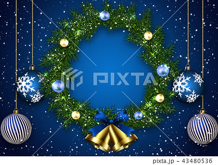 クリスマスリース 43480536