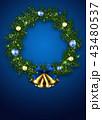 クリスマスリース 43480537