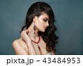 ジュエリー 美人 女の写真 43484953