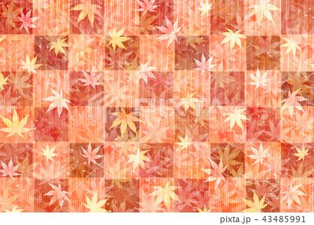 紅葉 もみじ 秋 背景  43485991