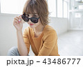 女性 女の子 ヘアスタイルの写真 43486777
