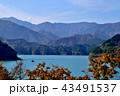 湖 風車 日本の写真 43491537