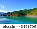 美しい紅葉に染まる宮ケ瀬ダム 43491706