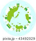 エコ エコロジー グリーンのイラスト 43492029