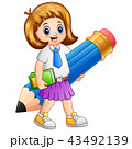 児童 子ども 子供のイラスト 43492139