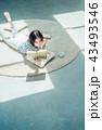 人物 女性 ポートレートの写真 43493546
