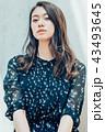 女性 ポートレート アジア人の写真 43493645