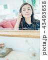 女性 ビューティー 肌の写真 43493658
