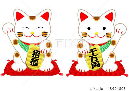 まねき猫  43494803