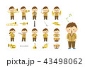 吹奏楽 男性 セット 43498062