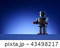 おもちゃのロボット 43498217