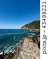海 海岸 散歩道の写真 43498221