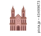 教会 聖堂 建築物のイラスト 43499673