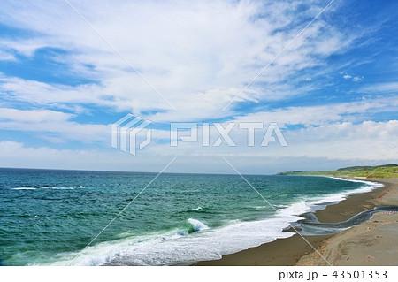 北海道 青空と海 43501353