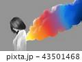 カラー 色 色彩のイラスト 43501468