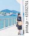 尾道 女性 観光の写真 43502701