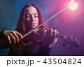 バイオリン ヴァイオリン 女の写真 43504824