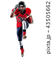american football player man isolated 43505662