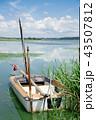 ボート 湖 湖岸の写真 43507812