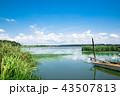 ボート 湖 風景の写真 43507813