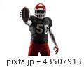 アメリカンフットボール アメリカ アメリカンの写真 43507913