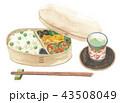豆御飯 弁当 43508049