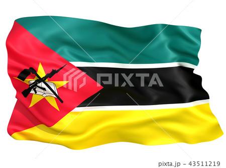 国旗 モザンビーク