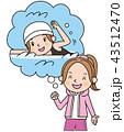 夢 水泳選手 43512470